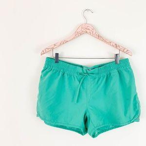 Columbia Soft Shorts Large Elastic PFG Green Omni